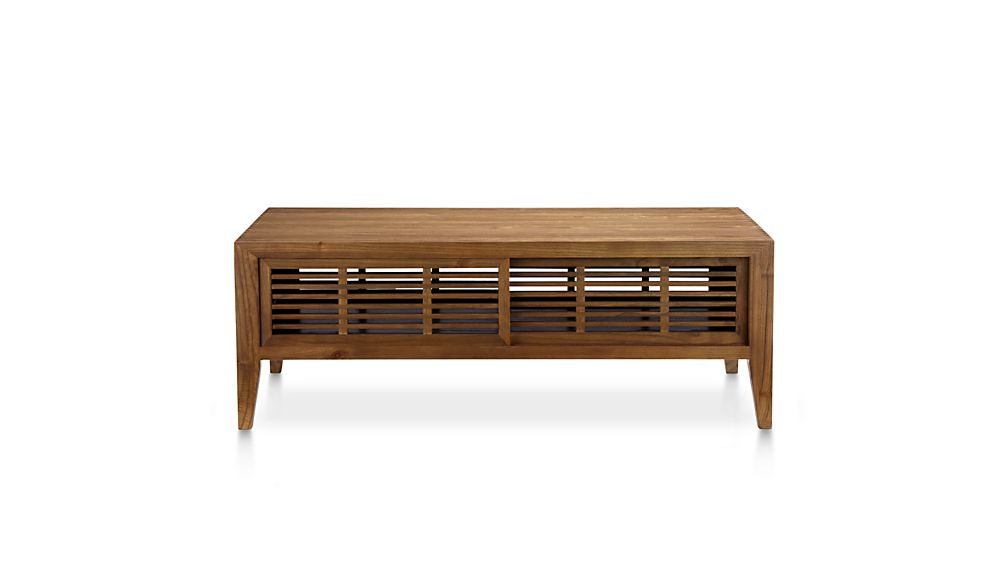 Marin Natural Solid Wood Coffee Table