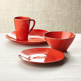 Marin Orange Dinnerware
