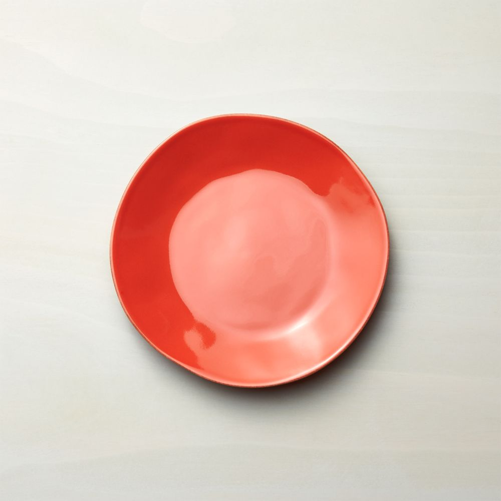 Marin Orange Salad Plate - Crate and Barrel