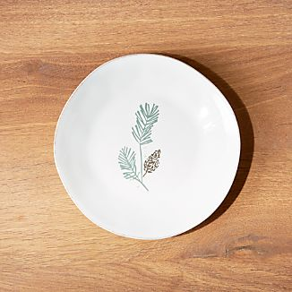 Marin Pine Bough Salad Plate