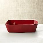 Marin Red 10 x7  Baking Dish