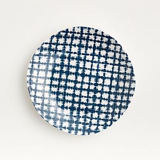 Marin Shibori Melamine Salad Plate