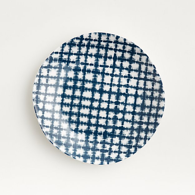 Marin Shibori Melamine Salad Plate - Image 1 of 6