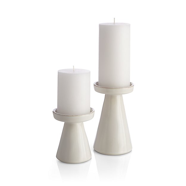 how to cut down a pillar candle