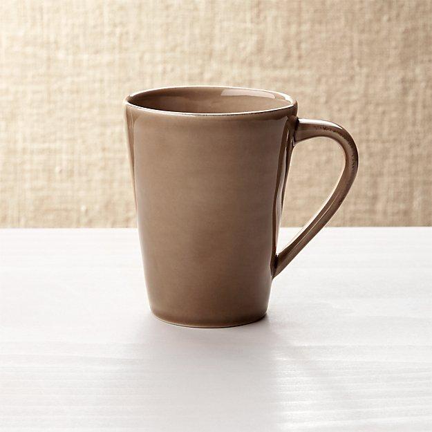 Marin Brown Coffee Mug Crate And Barrel