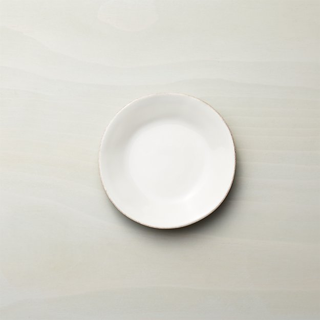 Marin White Appetizer Plate - Image 1 of 5