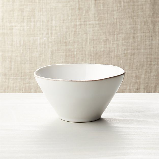 Marin White Bowl Crate And Barrel