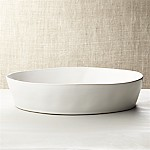 Marin White Oval 10 x13.75  Baking Dish