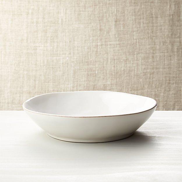 Marin White Low Bowl - Image 1 of 2
