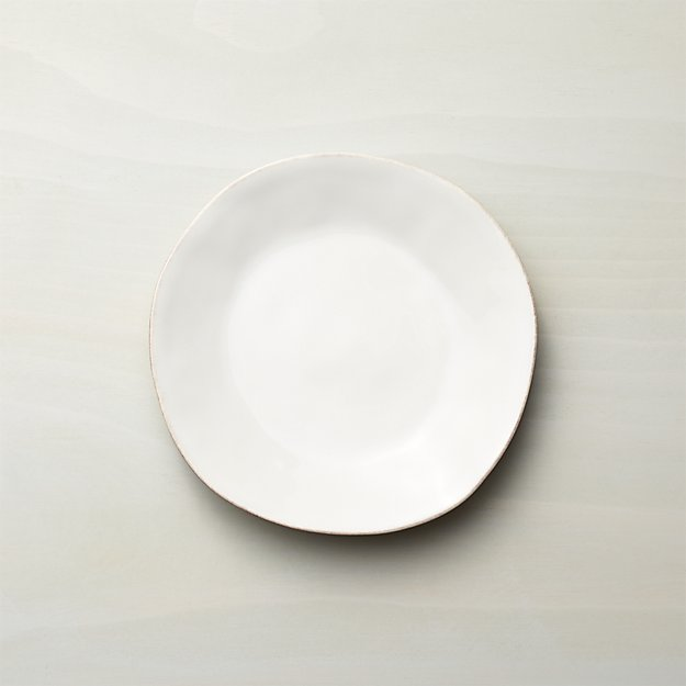 Marin White Salad Plate - Image 1 of 13