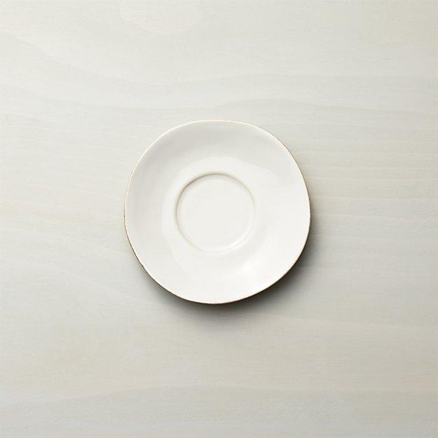 Marin White Saucer