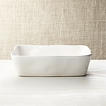 Marin White 10 x7  Baking Dish