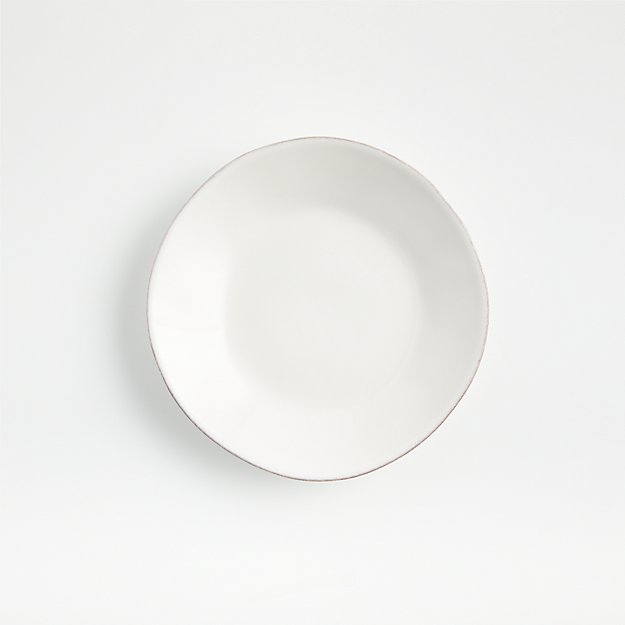 Marin White Appetizer Plate - Image 1 of 6