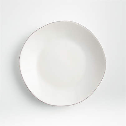 View testMarin White Salad Plate