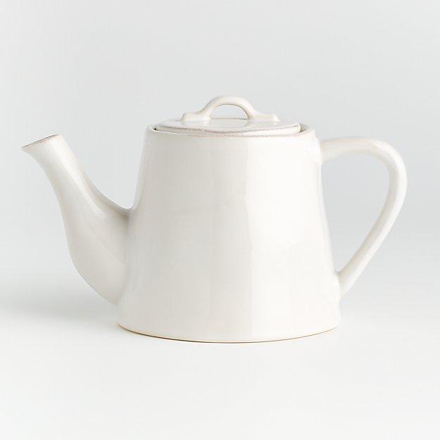 Marin White Teapot - Image 1 of 3