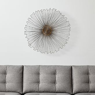 Wall Art: Wood, Metal and Fabric Designs | Crate and Barrel