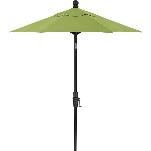6' Round Sunbrella ® Kiwi High Dining Umbrella with Black Frame