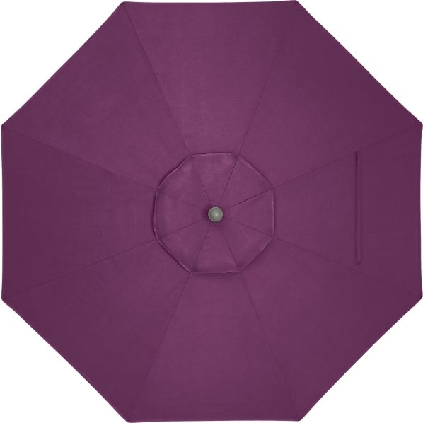 9' Round Sunbrella ® Phlox Umbrella Cover