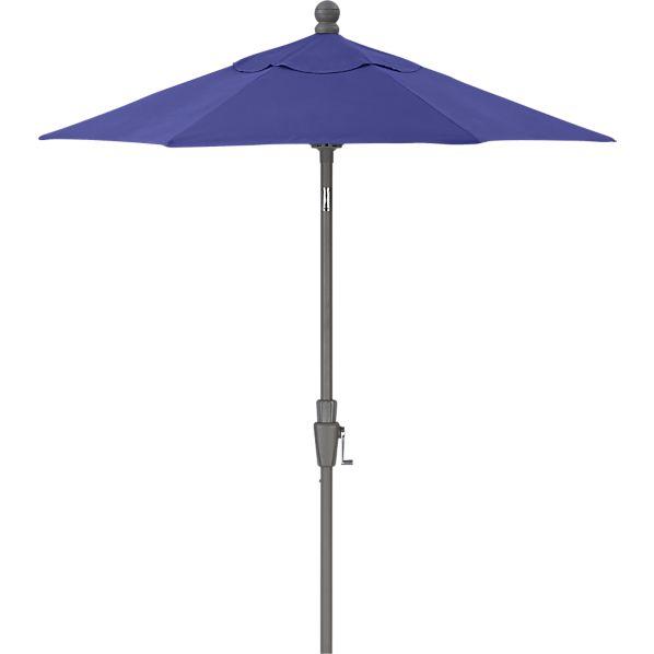 6' Round Sunbrella ® Marine High Dining Umbrella with Silver Frame