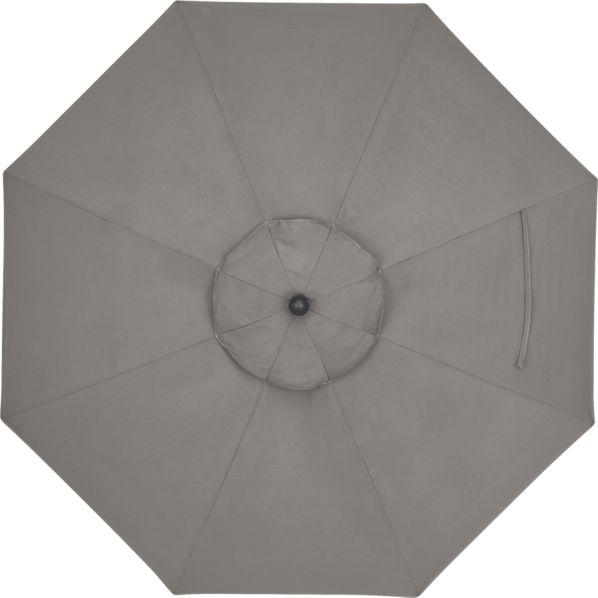 9' Round Sunbrella ® Graphite Umbrella Cover