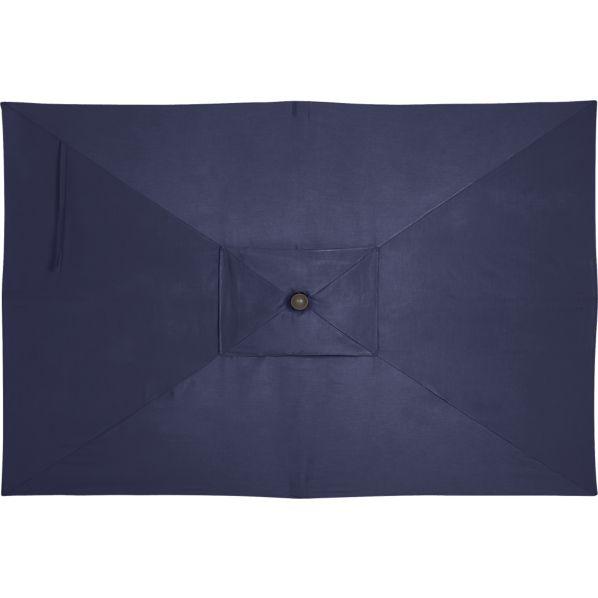 Rectangular Sunbrella ® Indigo Umbrella Cover