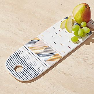 Marling Ceramic Cheese Board