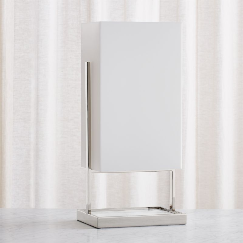 Marlo Frosted Rectangle Table Lamp
