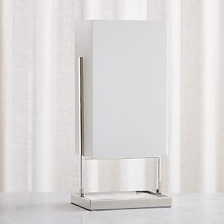modern table lighting. Marlo Frosted Rectangle Table Lamp Modern Lighting