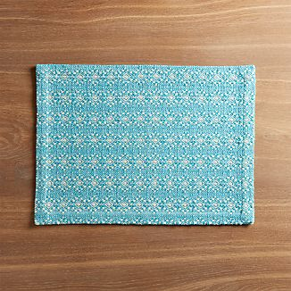 Marrakech Aqua Placemat