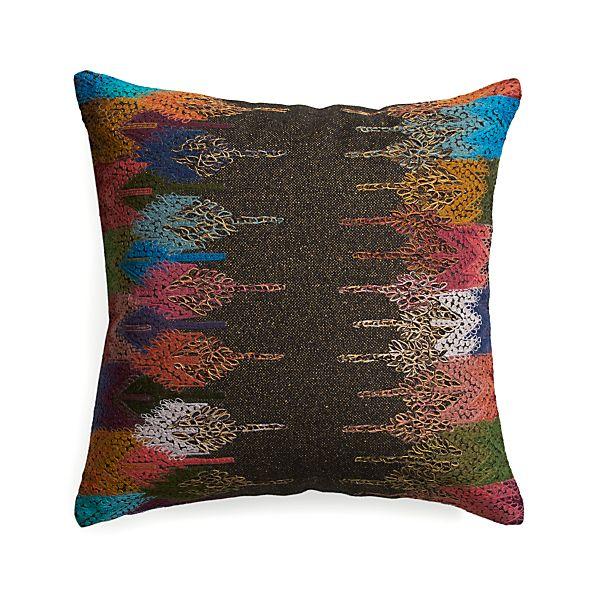 "Masina 18"" Pillow with Down-Alternative Insert"