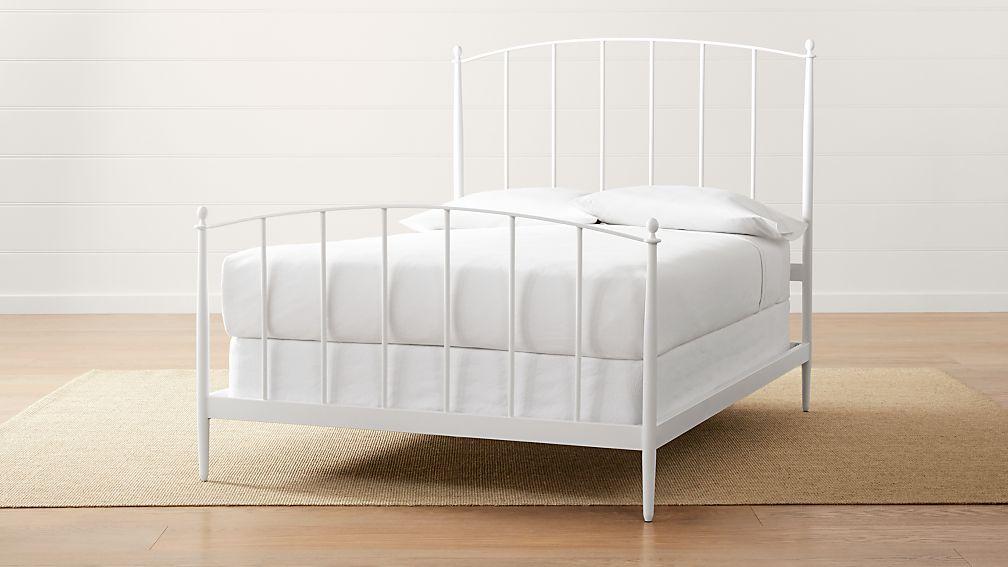 Mason White Full Bed