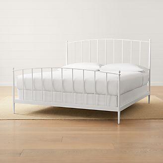 mason white king bed