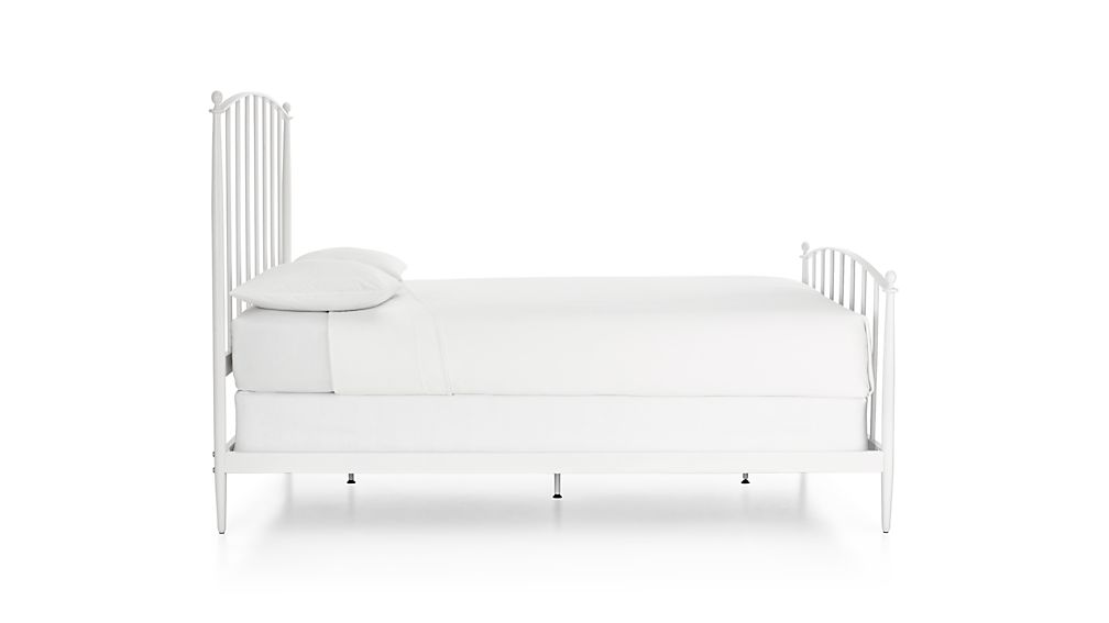 Mason White Twin Bed