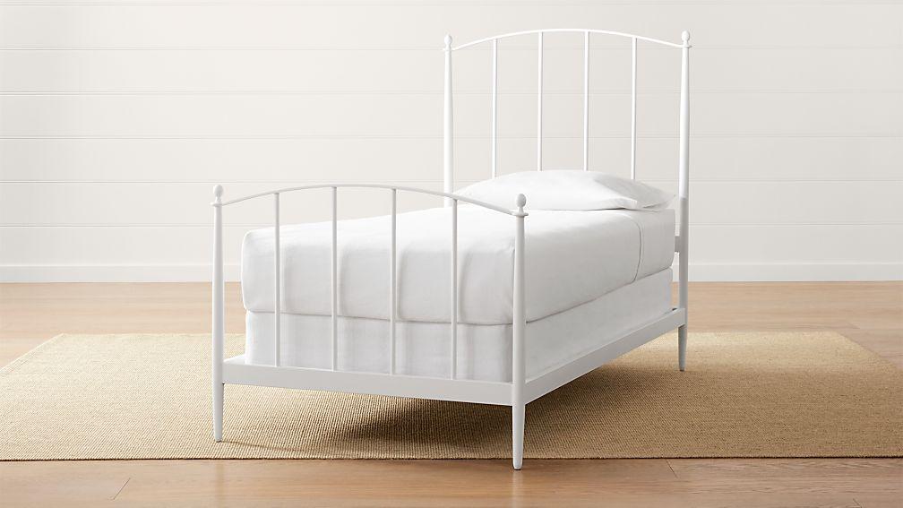 Mason White Twin Bed - Image 1 of 5