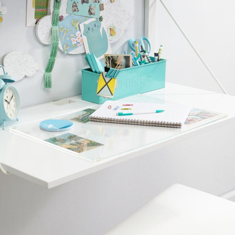 Clear Desk Mat Crate And Barrel