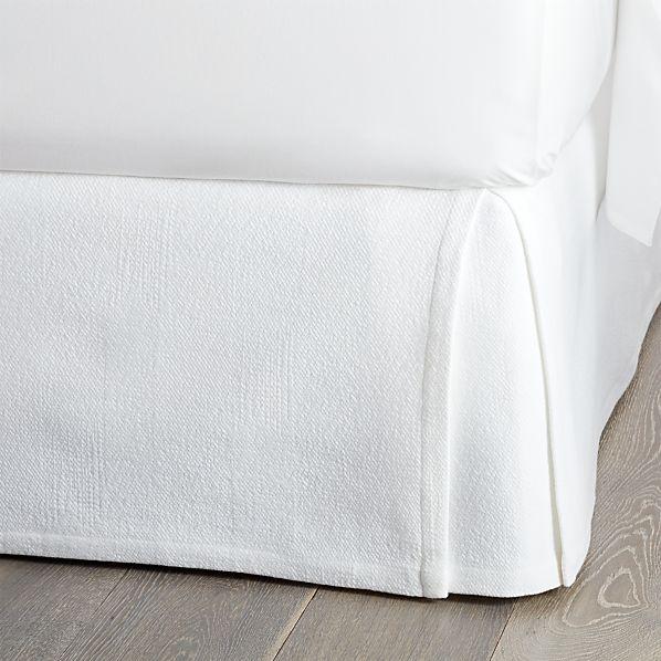 Matelasse King Bed Skirt