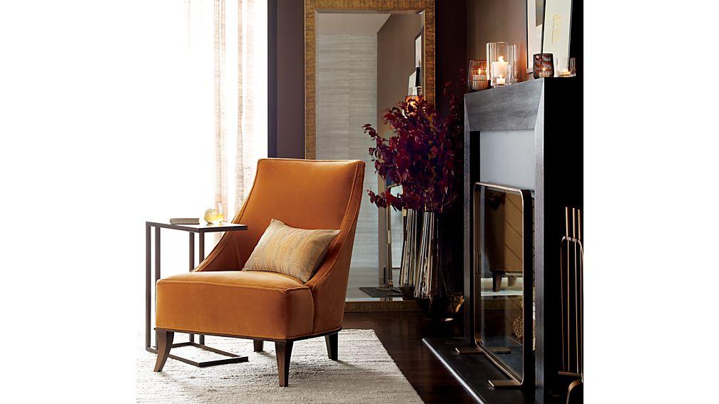 Matisse Armless Slipper Chair