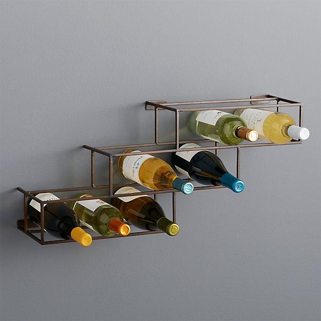 Matrix 12 Bottle Wine Rack Reviews Crate And Barrel
