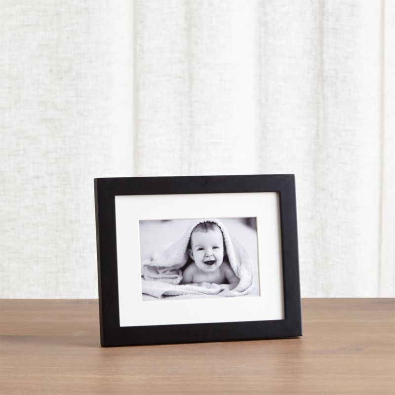 Matte Black 8x10 Picture Frame + Reviews | Crate and Barrel
