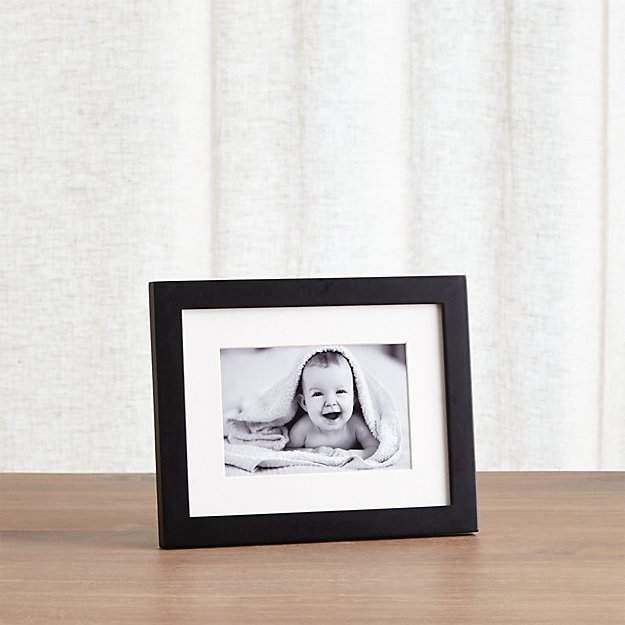 Matte Black 4x6 Picture Frame Reviews Crate And Barrel