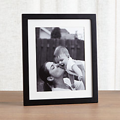 view larger image of matte black 8x10 picture frame