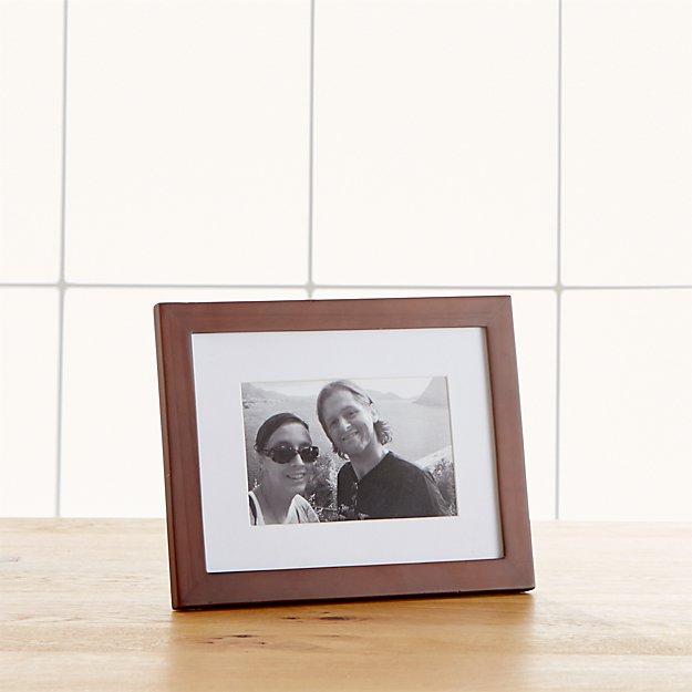 Matte Brown 4x6 Frame