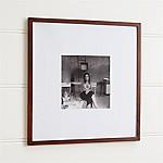 Matte Brown 11x11 Wall Frame