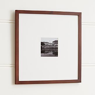 Matte Brown 5x5 Wall Frame