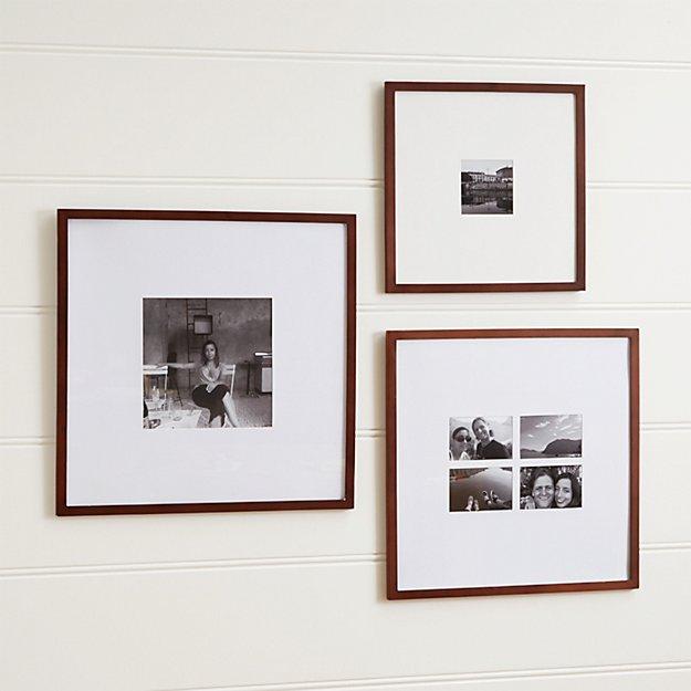 Matte Brown Wall Frames