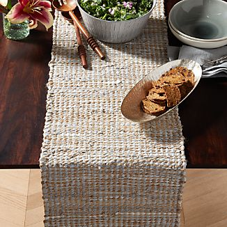 Woven Table Runners Crate And Barrel