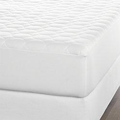 queen mattress pad reviews crate and barrel. Black Bedroom Furniture Sets. Home Design Ideas