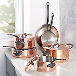 Mauviel ® M150 10-Piece Cookware Set