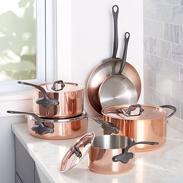 Mauviel ® M150 10-Piece Cookware Set