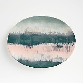 Mavi Oval Platter
